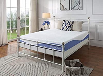 Perfect Cloud Atlas Cooling 10-inch Pressure-Relieving Memory Foam Mattress - Bed-in a-Box (Queen)