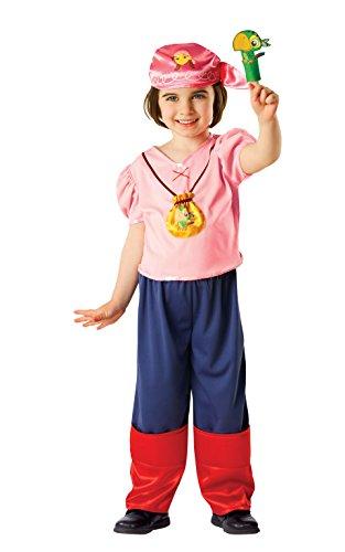 Rubies Officielle pour Enfant Disney Jake et Les Pirates du Pays Imaginaire Izzy Costume – Petit