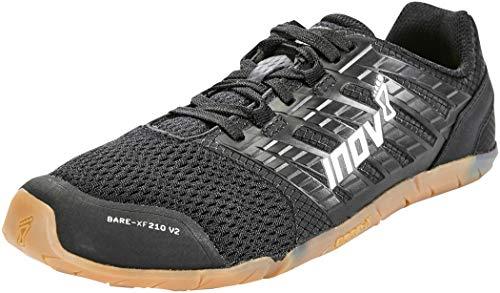 Inov-8 Women's Bare-XF 210 v2 (W) Cross Trainer, Grey/Black/Coral, 9.5 B US