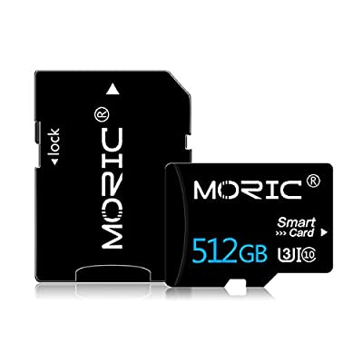 512GB Micro SD Card with Adapter High Speed Card for Nintendo Switch, Class 10 Memory Card for Android Smartphone Digital Camera Tablet and Drone MicroSD ?512GB?