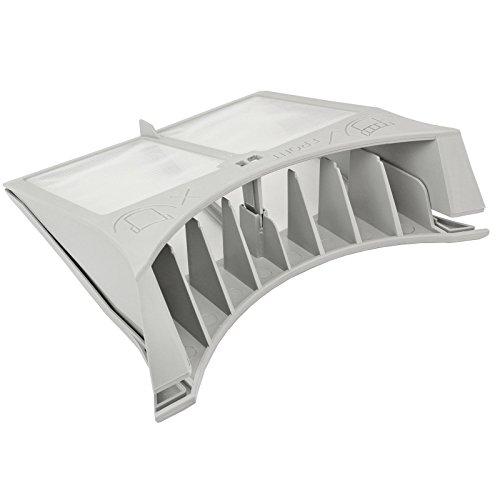 Spares2go - Filtro para pelusas, para secadoras Creda, color gris