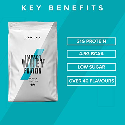 Myprotein Impact Whey Protein Vanilla, 1er Pack (1 x 1 kg) - 5