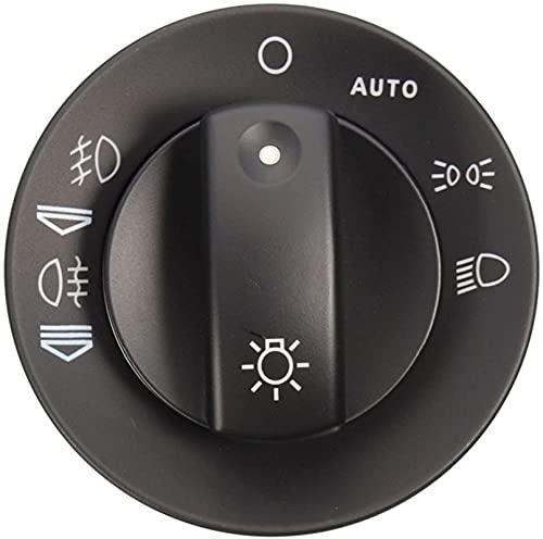Lifeyz Kit de reparación de Interruptor de luz antiniebla para Faro, Tapa de Cubierta para Audi A4 S4 8E B6 B7 2000-2007 con Accesorios de Coche con función automática