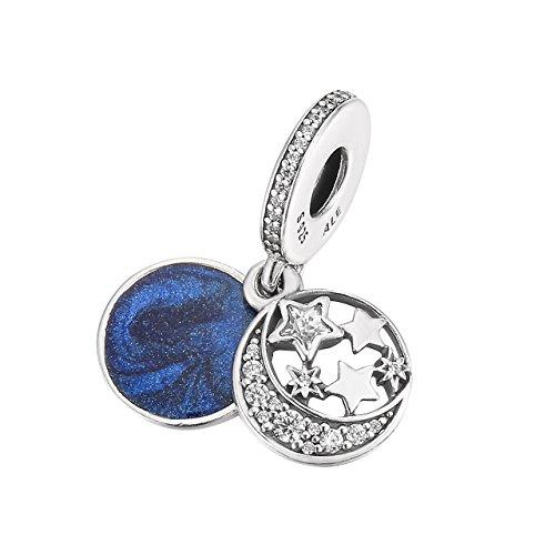 Pandora Charm - Vintage Nachthimmel, 791993CZ
