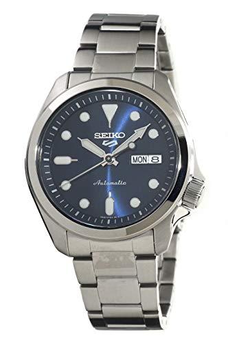 Seiko 5 Sports Herren-Armbanduhr Automatik Blau SRPE53K1