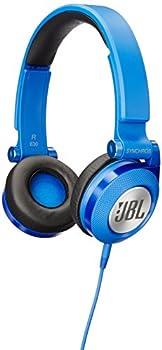 JBL E30 Blue High-Performance On-Ear Headphones with JBL Pure Bass and DJ-Pivot Ear Cup Blue