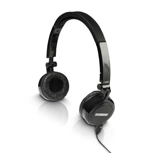 LD Systems LDHP550E Dynamischer DJ und Monitoring Kopfhörer (3,5/6,3mm Stereoklinke, 1,2m)