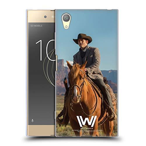Head Case Designs Offizielle Westworld Teddy Flood Darsteller Soft Gel Handyhülle Hülle Huelle kompatibel mit Sony Xperia XA1 Plus