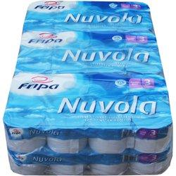 Toilettenpapier Fripa Tissue Plus3 hochweiß 3-lagig