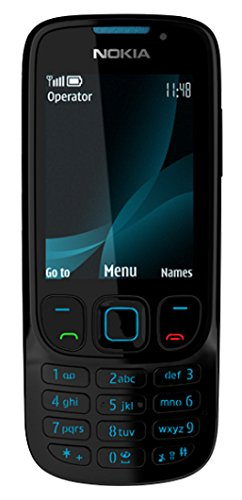 Nokia 6303i classic Handy (Kamera mit 3,2 MP, MP3, Bluetooth)  black