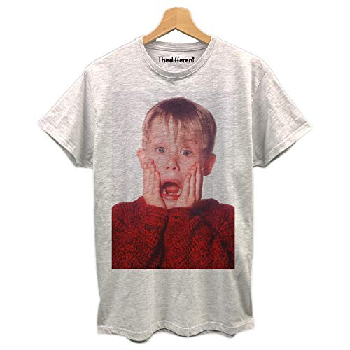 thedifferent T-Shirt Maglietta Uomo Kevin Mamma Ho Perso L'Aereo Idea Regalo