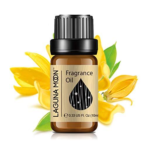 Lagunamoon Aceites de Fragancia, Aceites Esenciales para Humidificador, Aceite para Aromaterapia 10ml - Ylang Ylang