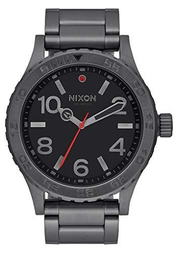Nixon Reloj Analógico para Unisex de Cuarzo con Correa en Acero Inoxi