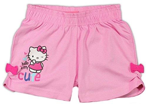 Hello Kitty Kurze Hose Shorts (116/122, Rosa)