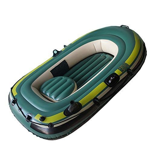 Find Discount Liweibao Kayak 2 Person Fishing Boat Inflatable Boat Dinghy Thickened Kayak Wear Doubl...