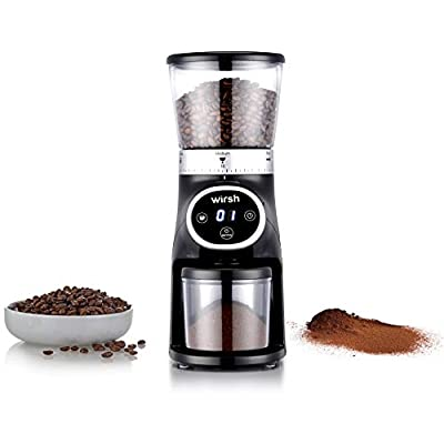 Burr Coffee Grinder-Coffee Grinder with Stainle...