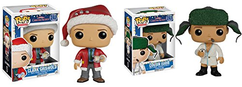 Bundles By Hobbymeisters.com Bundle of 2-Funko Pop National Lampoon Christmas Vacation Gift Set (Clark & Eddie)
