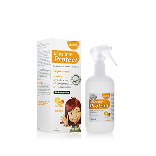 Neositrín Protect Spray Acondicionador Sin Aclarado, 250 ml, Pack de 1