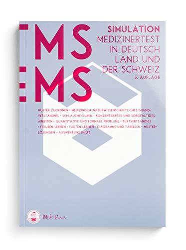 Medizinertest TMS & EMS 2020 I Test-Simulation für den Medizin-Aufnahmetest in Deutschland und der Schweiz I Zur idealen Vorbereitung auf den Test für medizinische Studiengänge