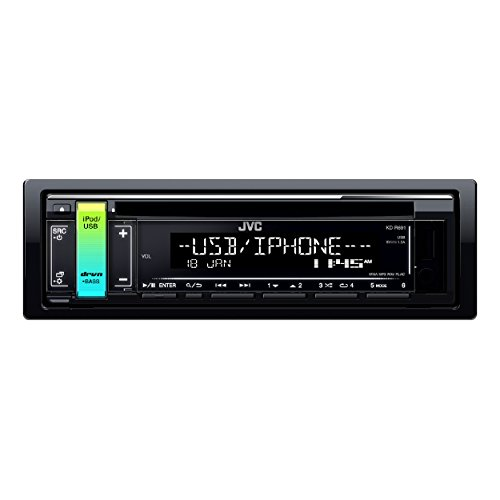 JVC kd-r691Single DIN CD/Radio Player