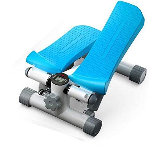 Laufband Stepper LCD-Laufband Beine Und Füße Kleine Sportgeräte Heimfitnessgeräte Sind EIN Guter Helfer Für Ihr Leben Und Kümmern Sich Um Ihre Gesundheit,Blau