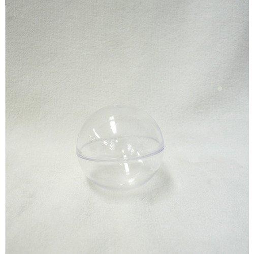 プラスチックBOX 球体 クリア 径65mm