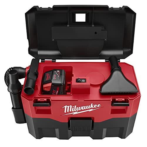 Milwaukee 0880-20 18V Li-Ion 2 Gallon Wet/Dry Vacuum (Bare Tool)