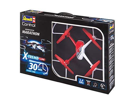 Revell Revell Control 24898 RC Quadcopter X-Treme Marathon, Rot/Weiß
