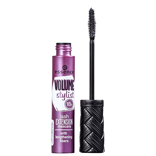 ESSENCE MÁSCARA VOLUME STYLIST 18 H LASH EXTENSION MASCARA BLACK 12 ML