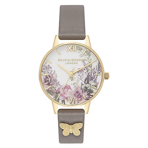 Olivia Burton Reloj para de Cuarzo japonés con Correa en plástico OB16EG109