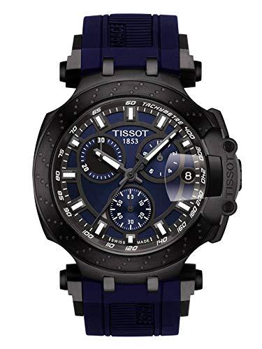Tissot Herren-Uhren Analog Quarz One Size Kautschuk 87607674