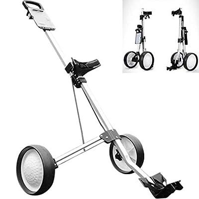 SHANGN Golfwagen Rad Golftrolly