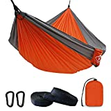Camping Hammock Double with 2 Tree Straps...