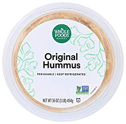 Whole Foods Market, Hummus, Original, 16 oz