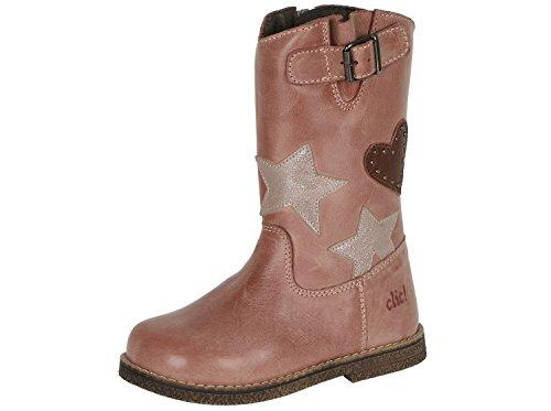Clic! CL-8850 DE Coole Stiefel Boots für Mädchen, Pink (Rose), EU 30