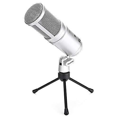Superlux E205U Micrófono Condensador Estudio Silver