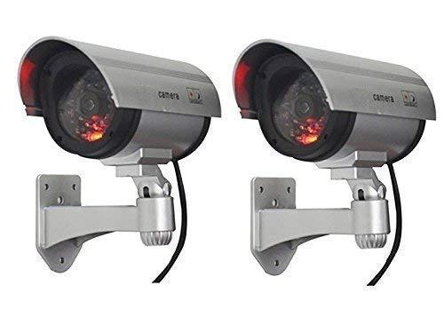MOHAK 2 False Outdoor CCD Camera Fake Dummy Security Camera Waterproof IR Wireless Blinking Flashing