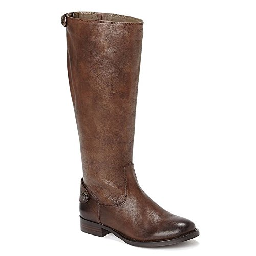 Arturo Chiang Women's Fierce Chocolate Leather Boots - M - 11