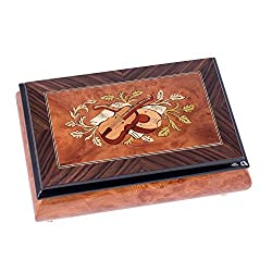 violin themed gifts ~ musical jewelry box