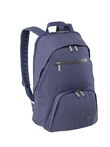 "Wenger 602808 CityDrive 15,6\"" Laptop-Rucksack, gepolsterte Laptopfach mit iPad/Tablet / eReader Tasche Navy"