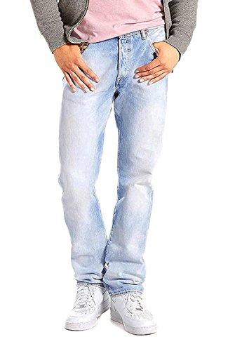 Levi's 501 Original Fit, Jeans da Uomo B Boy 42W x 32L