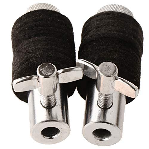 2 x Hi Hat Becken Standard Trommel Ersatz Teil Zubehör - Hi-Hat Clutch Halter Clamp