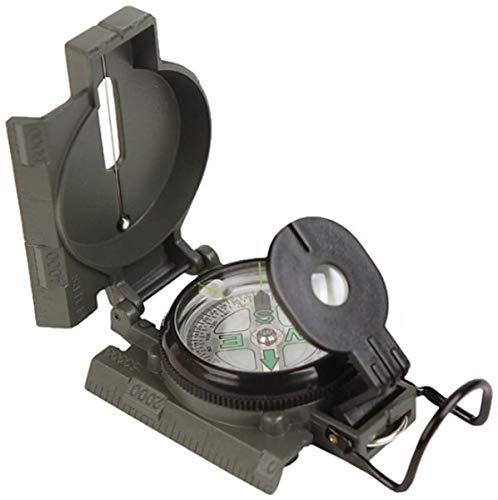 Kikkerland CD507 Lensatic Compass , Black