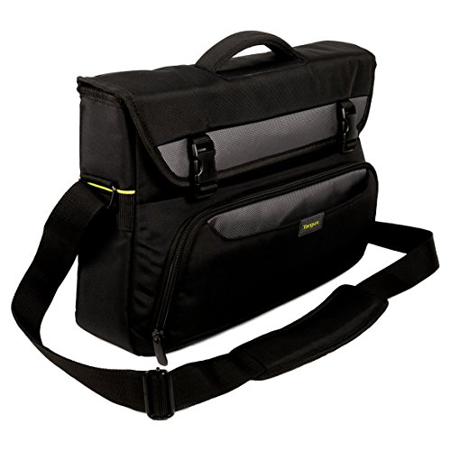 Targus CityGear 10-14-Inch Business Casual Laptop Messenger and Commuter Bag with Shoulder Strap, Black (TCG265EU)