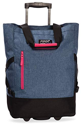 Punta Shopping Roller, graublau, 36x50x20cm