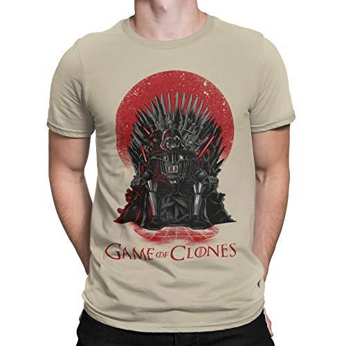 Camisetas La Colmena, 035 - Game of Clones (M, Arena)