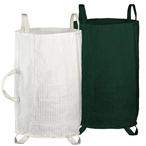 Gartenbag / Abfallsack Weiß
