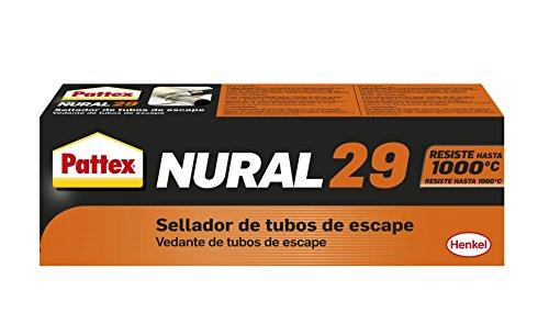 Pattex Nural 29, sellador de tubos de escape, uniones, grietas o fisuras, 80 gr