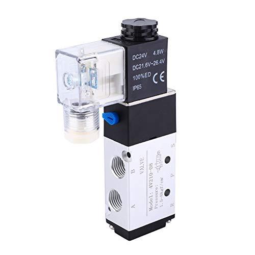 Válvula de aire del solenoide segura, aleación eléctrica del aire 5~50℃+15% -25% 15% -25% -25%