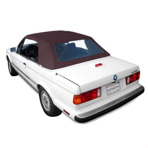 Sierra Auto Tops BMW 1987-1993 3 Series (E30) Convertible Top, Ger Classic Canvas, Brown